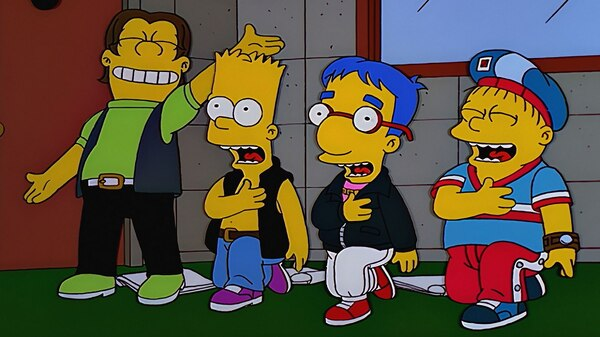 how the simpsons affect kids Josh weinstein, writer–executive producer, the simpsons (1991–98): when jim and matt and sam first assembled a group of actors for the show, they didn't go for voice-over actors, people who.