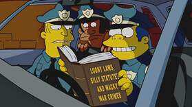 Wiggum Arrests Homer