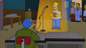 Homer's Audition