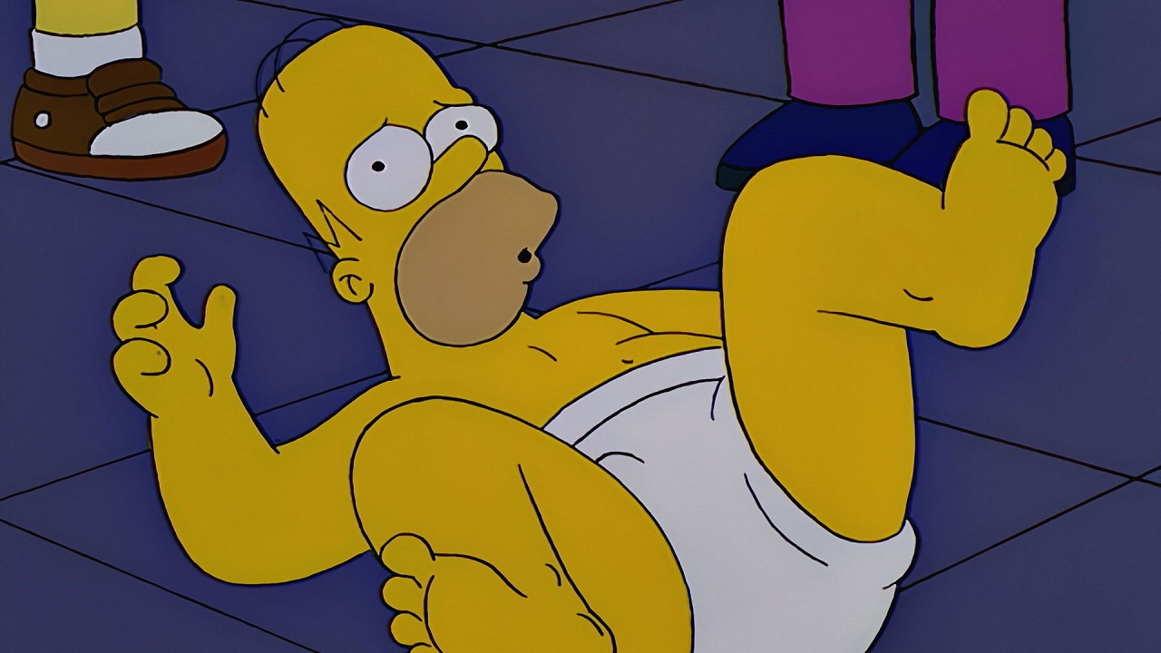 I need help - on describing homer simpsons - please help its for my media coursework?