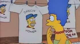 Dancing Homer