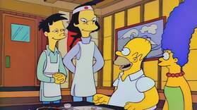 Homer Eats Fugu