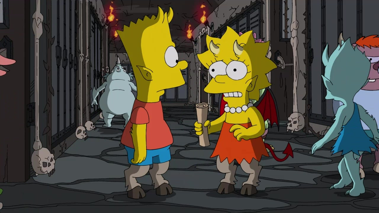 Delightful Treehouse Of Horror Episodes Online Part - 1: Simpsons World