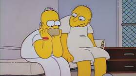 Homer and Leon