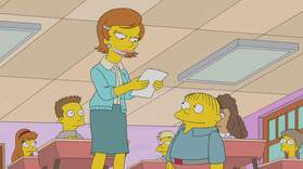 Lisa's New Teacher