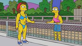 Marge Tries Steroids