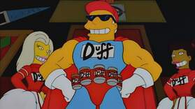 The Duffman Cometh