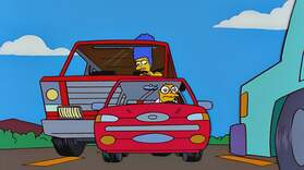 Marge's Road Rage