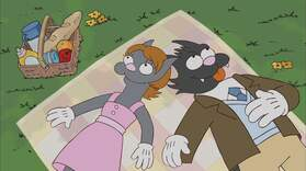 Itchy and Scratchy:  P. U.