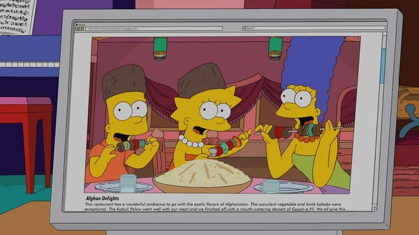 The Food Wife | Simpsons World on FXX
