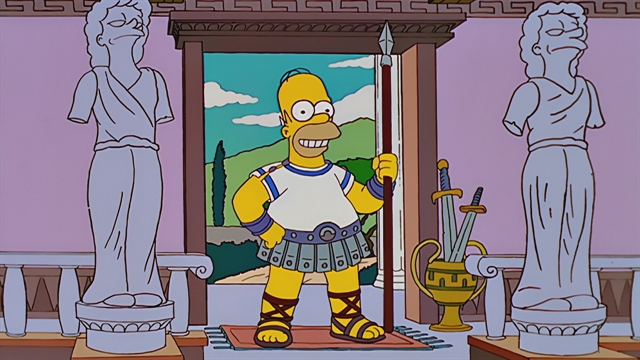 Odyssey Season 13 Episode 14 Simpsons World On Fxx