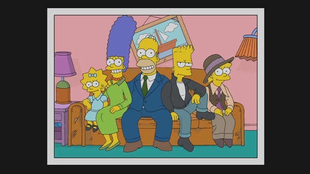 Christmas Simpsons.Simpson Photo History