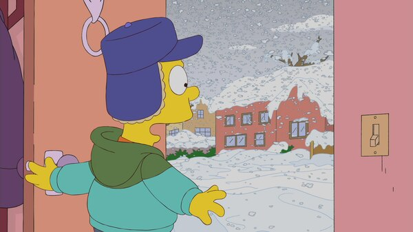 Bart S Snow Day Season 21 Episode 8 Simpsons World On Fxx
