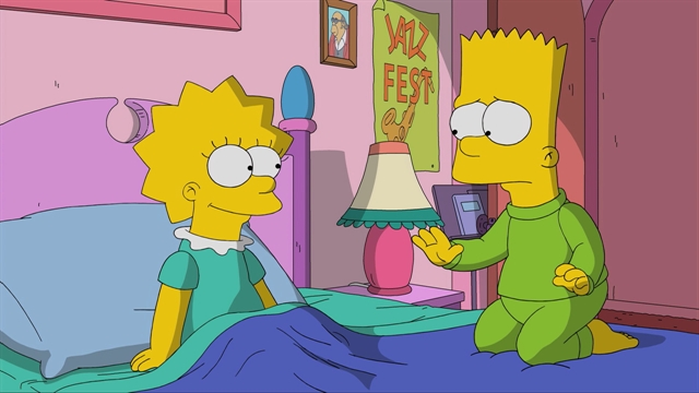 Bart Had a Nightmare