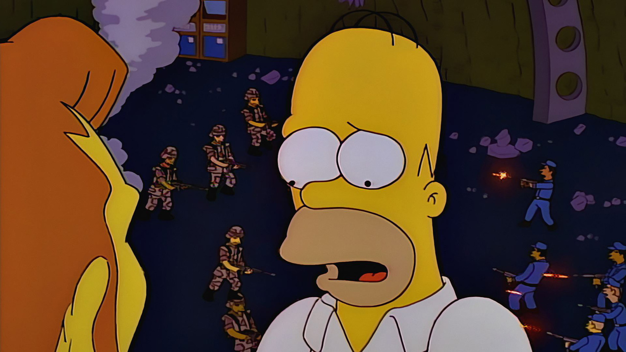 you only move twice season 8 episode 2 simpsons world on fxx