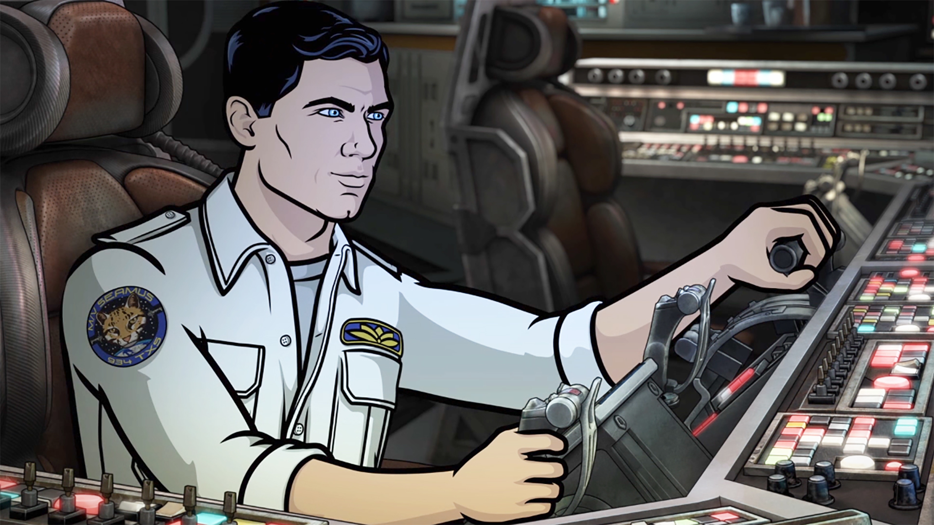 Archer Cartoon foto porno