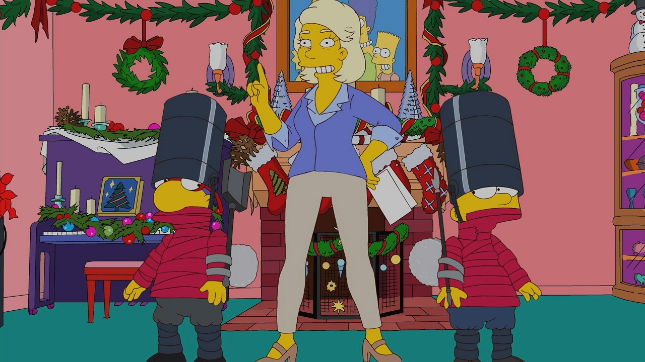 The Fight Before Christmas | season 22 episode 8 | Simpsons World on FXX