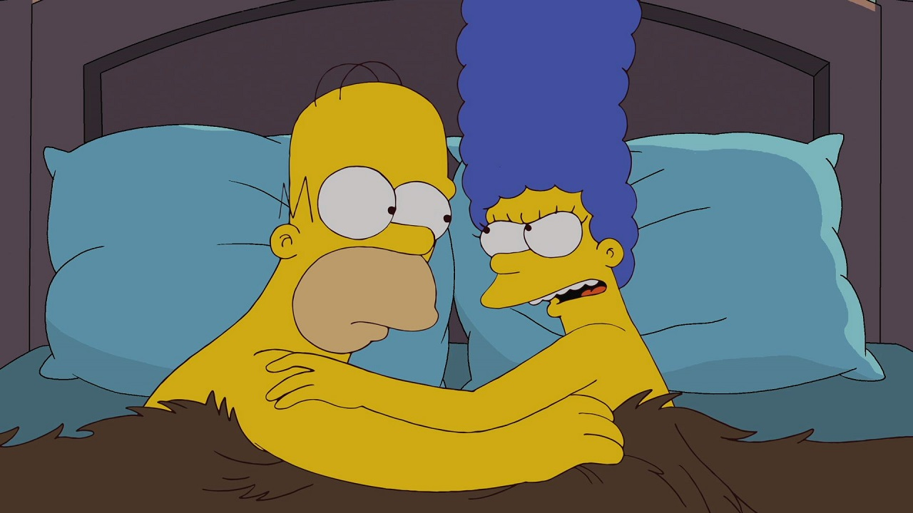 Homer marge simpson having sex