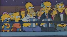 Mr. Burns and Homer Bond