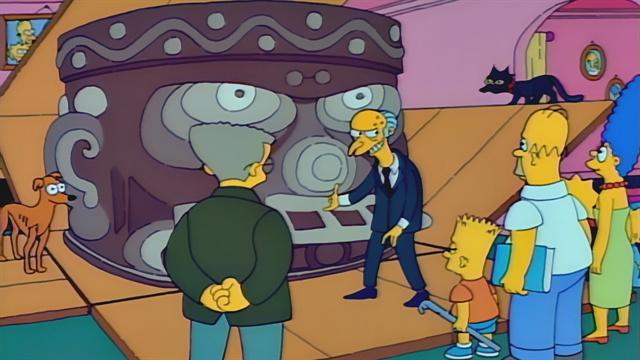 Mr  Burns' Gifts