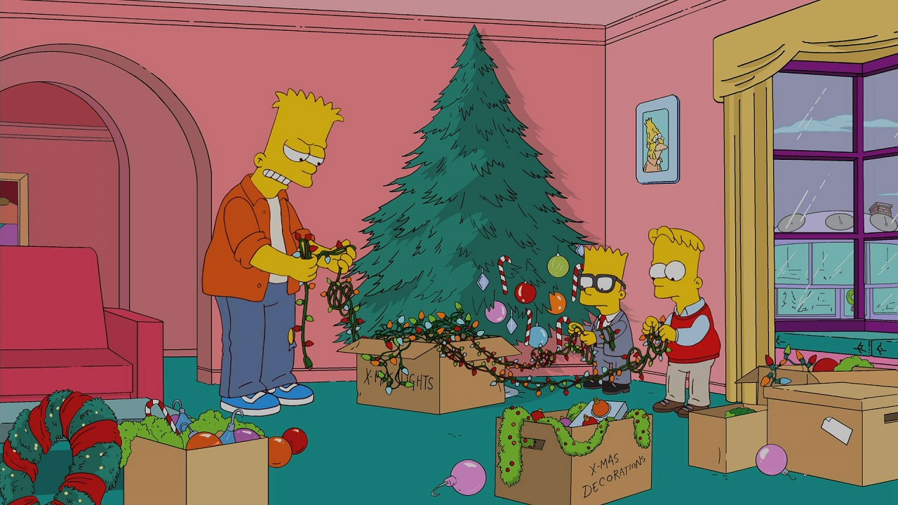 The Simpsons Christmas Episodes.Holidays Of Future Passed