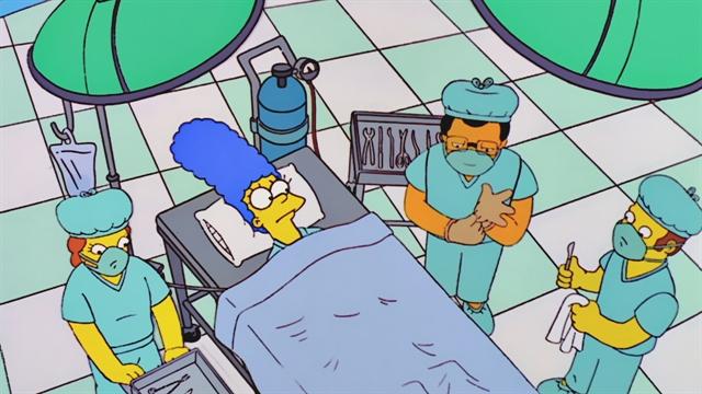 Marge Gets Larger