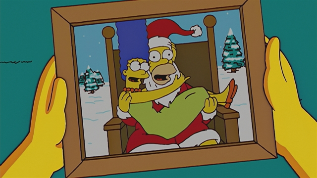 The Simpsons Christmas Episodes.Gift Giving