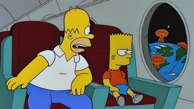 Spaceship | season 11 episode 4 | Simpsons World on FXX