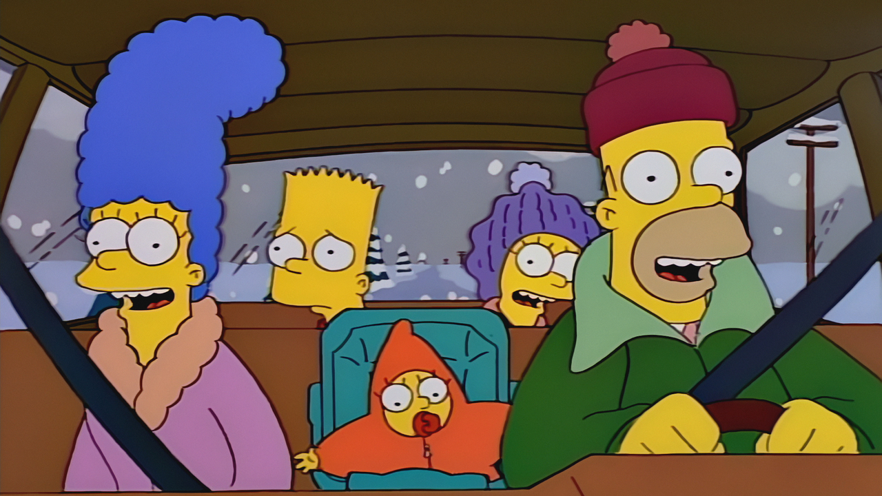 The Simpsons Christmas Episodes.The New Car