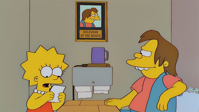 Study Aids Season 10 Episode 7 Simpsons World On FXX