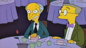 Happy Birthday Mr. Burns