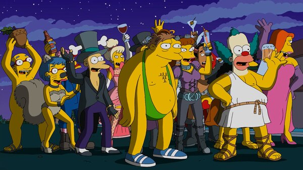 Grownup Halloween Season 27 Episode 4 Simpsons World On Fxx