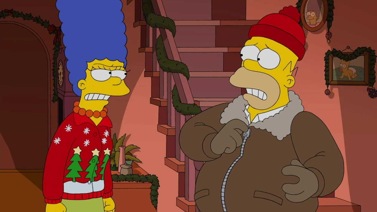 I Won\'t Be Home For Christmas | season 26 episode 9 | Simpsons World ...