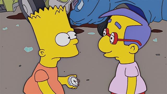 The Stopwatch | season 15 episode 1 | Simpsons World on FXX